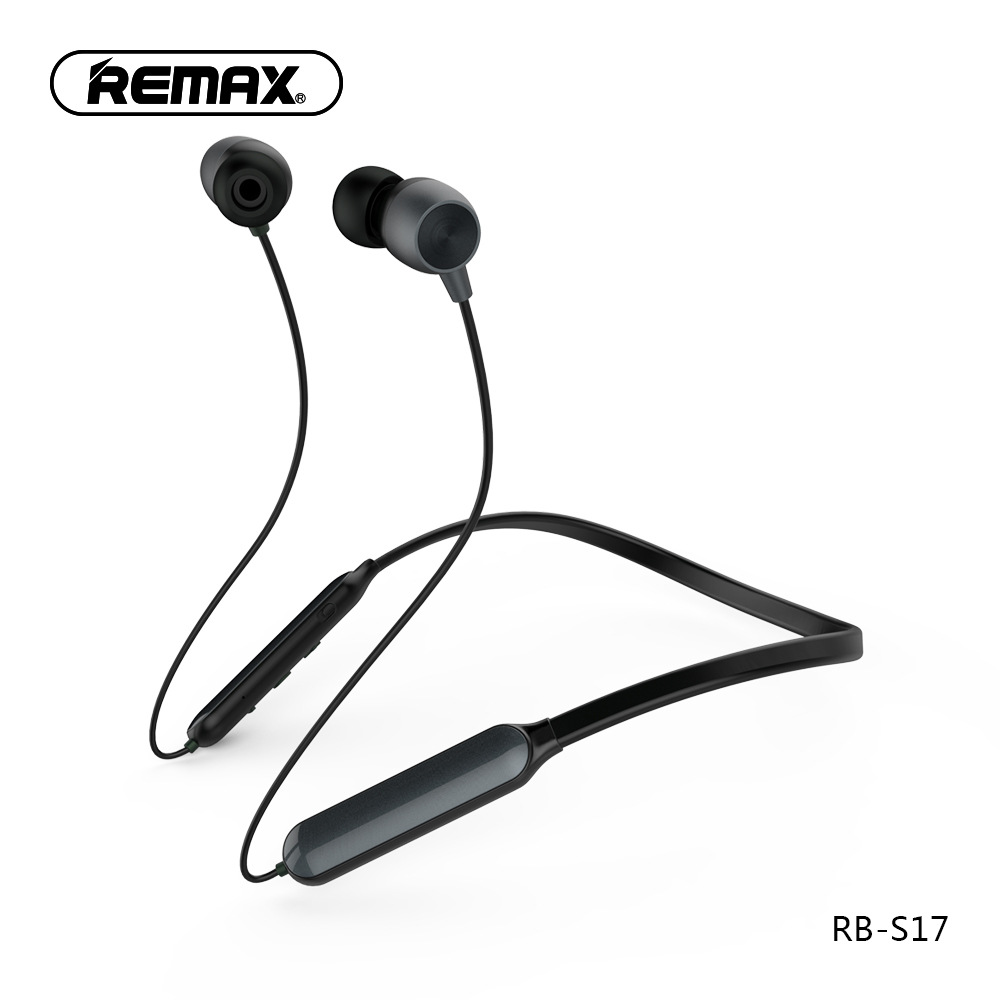 Remax Sport Bluetooth Earphone - RB-S17 - Black