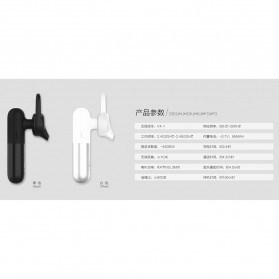 Remax Proda Capsule Bluetooth Headset Handsfree - PD-BE100 - Black - 8