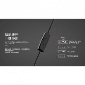 Remax Proda Pauz Series Earphone with Mic - PD-E200 - Black - 4