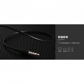 Remax Proda Pauz Series Earphone with Mic - PD-E200 - Black - 5