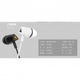 Remax Proda Pauz Series Earphone with Mic - PD-E200 - Black - 8