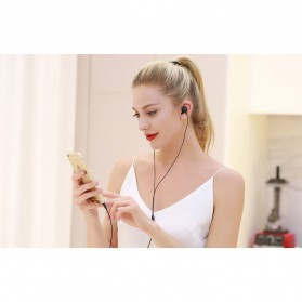 Remax Music Earphone with Microphone - RM-550 - Black - 3