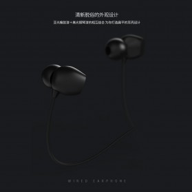 Remax Music Earphone with Microphone - RM-550 - Black - 8