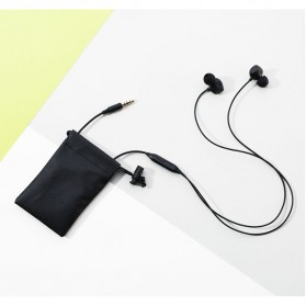 Remax Music Earphone with Microphone - RM-550 - Black - 10