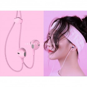 Remax Stylish Earphone with Microphone - RM-330 - Black - 2
