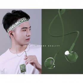 Remax Stylish Earphone with Microphone - RM-330 - Black - 3