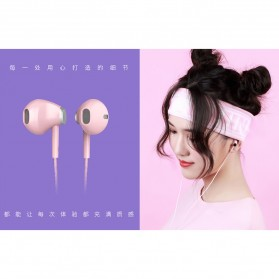 Remax Stylish Earphone with Microphone - RM-330 - Black - 4