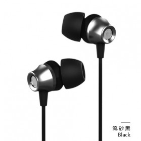 Proda Fonyan Rock Earphone with Microphone - PD-E300 - Black