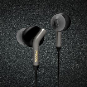 Proda Funye Earphone - PD-E400 - Black