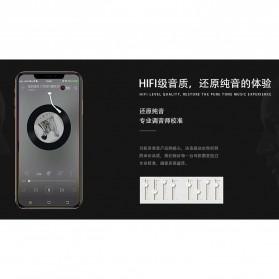Proda Funye Earphone with Microphone - PD-E400 - Black - 3