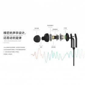 Proda Funye Earphone with Microphone - PD-E400 - Black - 4