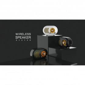 Remax Retro Bluetooth Speaker FM Radio - RB-M31 - Black - 3