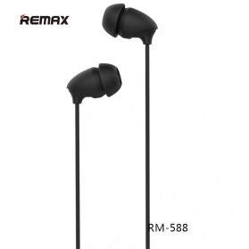Remax Wired Sleep Earphone - RM-588 - Black