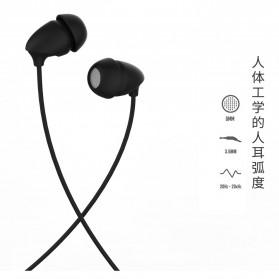 Remax Wired Sleep Earphone - RM-588 - Black - 2