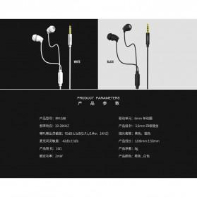 Remax Wired Sleep Earphone - RM-588 - Black - 3