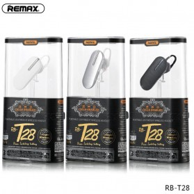 Remax Latiuyou Bluetooth Headset Handsfree - RB-T28 - Black - 6