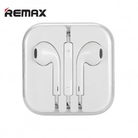 Remax Earphone Earpod 3.5mm with Mic - RX-L01 - White