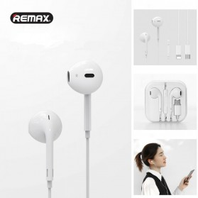 Remax Earphone Earpod USB Type C with Mic - RX-L02 - White