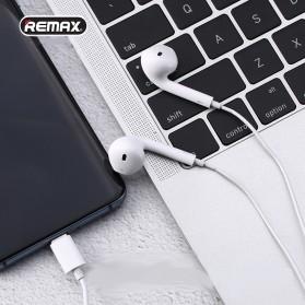 Remax Earphone Earpod Lightning with Mic - RX-L03 - White - 4