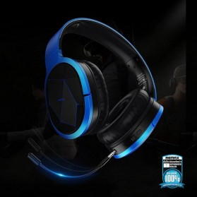 Remax Proda Bluetooth Gaming Headphone - PD-BH200 - Silver - 4