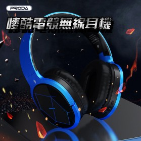 Remax Proda Bluetooth Gaming Headphone - PD-BH200 - Silver - 7