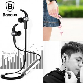 Baseus Bluetooth Earphone Headset - B11 - Black - 2