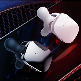 Baseus Encok Dual TWS Airpods Earphone Bluetooth - W02 - Black - 8