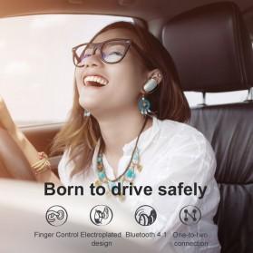 Baseus Encok A02 Mini Bluetooth Headset Earphone - NGA02-0A - Black - 2
