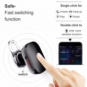 Baseus Encok A02 Mini Bluetooth Headset Earphone - NGA02-0A - Black - 3