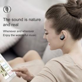 Baseus Encok A02 Mini Bluetooth Headset Earphone - NGA02-0A - Black - 5