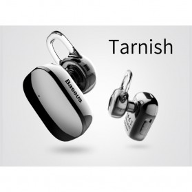 Baseus Encok A02 Mini Bluetooth Headset Earphone - NGA02-0A - Black - 8