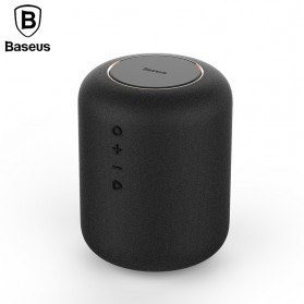 Baseus Encok Portable Bluetooth Speaker with Wireless Charging - E50 - Black