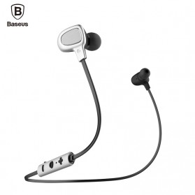Baseus Seal Bluetooth Earphone - B15 - Silver Black
