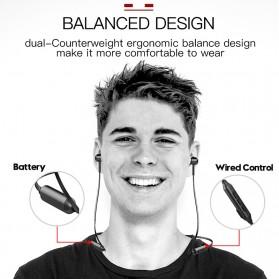 Baseus Encok Neckband Bluetooth Earphone - S06 - Black - 5