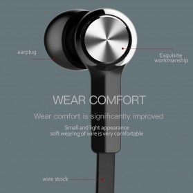 Baseus Encok Neckband Bluetooth Earphone - S06 - Black - 9