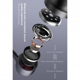 Baseus Encok Super Bass Wired Earphone - H02 - Black - 6