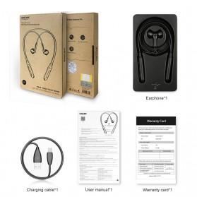 Baseus Encok Neckband Bluetooth Earphone - S16 - Black - 6