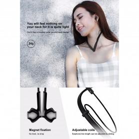 Baseus Encok Neckband Bluetooth Earphone - S16 - Black - 8