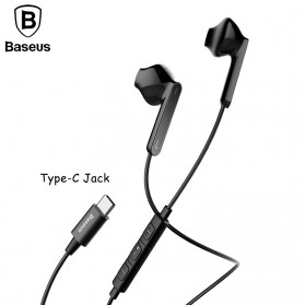 Baseus Encok Wired Earphone USB Type C - C16 - Black