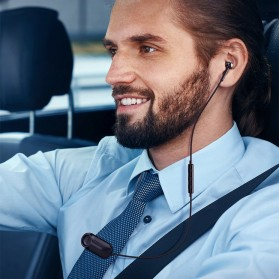 Baseus Encok Bluetooth Earphone 5.0 - NGA06-01 - Black - 2