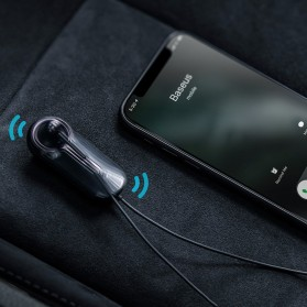 Baseus Encok Bluetooth Earphone 5.0 - NGA06-01 - Black - 4