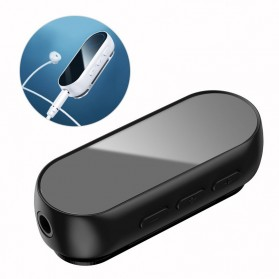 Baseus Wireless Bluetooth 5.0 Transmitter Audio Adapter AUX 3.5mm - NGBA02-01 - Black