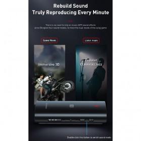 Baseus Wireless Bluetooth 5.0 Receiver Audio Adapter APT-X NFC - NGBA03-01 - Black - 3