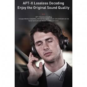 Baseus Wireless Bluetooth 5.0 Receiver Audio Adapter APT-X NFC - NGBA03-01 - Black - 5