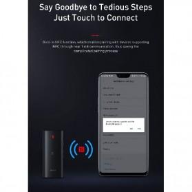 Baseus Wireless Bluetooth 5.0 Receiver Audio Adapter APT-X NFC - NGBA03-01 - Black - 9