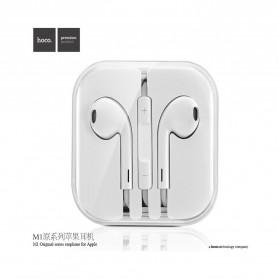 Hoco Elegant Earphone Earbud dengan Mic - M1 - White - 5