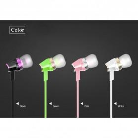 Hoco Premium Design Earphone dengan Mic - M4 - Black - 4
