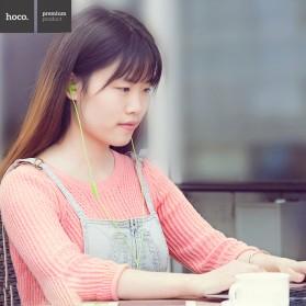 Hoco Premium Design Earphone dengan Mic - M4 - Black - 7