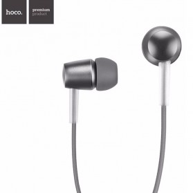 Hoco Simple Design Earphone dengan Mic - M10 - Gray