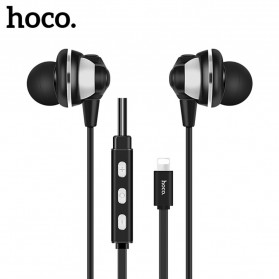 Hoco Lightning Digital Earphone untuk iPhone 7/8/X - L1 - Black
